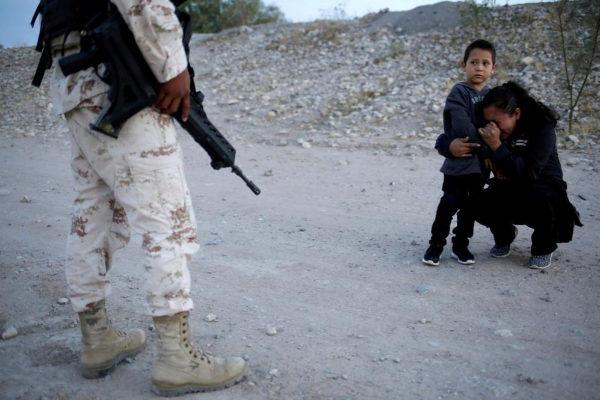 Guatemalan migrant <HIT>Ledy</HIT> <HIT>Perez</HIT> embraces her son...