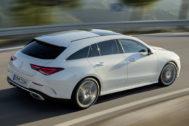 La nueva carrocería Shoting Brake del Mercedes CLA.