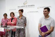 Navarra desnuda la impostura del candidato Sánchez