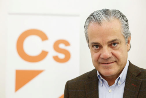 Marcos de Quinto, nuevo portavoz económico de Cs.