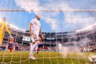Sergio Ramos, durante el encuentro, este sábado.