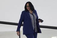 La ministra de Mujer, Familia y Derechos Humanos, Damaris Alves.