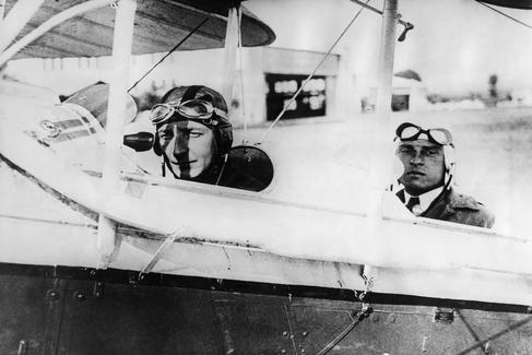 László Almásy, a la izquierda.