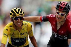 Nibali vence en Val Thorens y Egan Bernal es virtual ganador