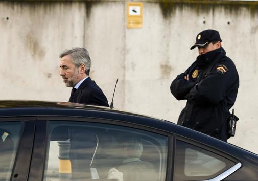 Ángel Acebes, ex presidente del comité de auditoría de BFA-Bankia,...
