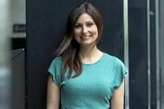 Lorena Roldán, la candidata de Cs a la Generalitat.