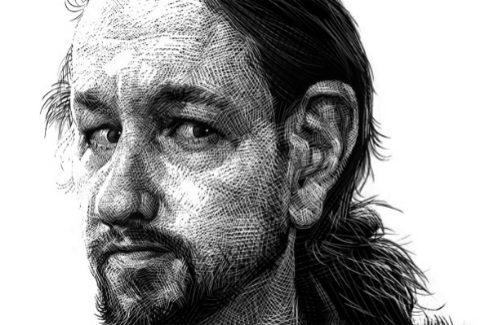 Ilustración de Pablo Iglesias, realizada por RICARDO.