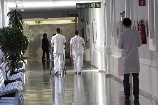 Dependencias del Hospital Clínico de Barcelona.