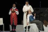 Una escena de 'El amor médico', que se representa en Corral Cervantes.