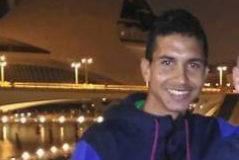 Jaouad Tougane junto a Tony Gil en la Ciudad de las Artes y las Ciencias de Valencia.