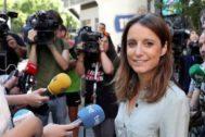 La delegada del área de Cultura, Turismo y Deporte del Ayuntamiento de Madrid, Andrea Levy.