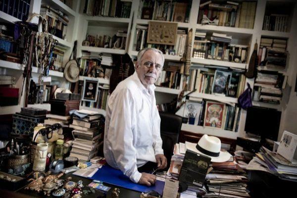 Alberto Di Lolli. 26/7/2019, Madrid. Entrevista al periodista y...