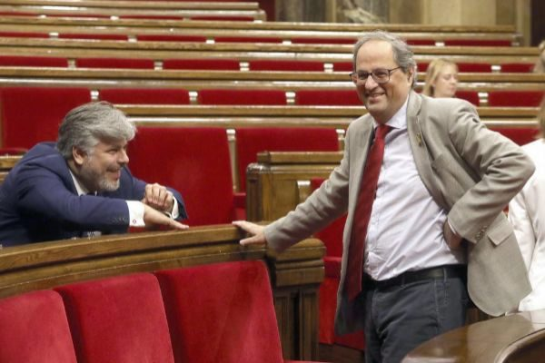 Antonio Moreno 24.07.2019 Barcelona Cataluña.El president...