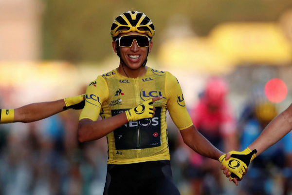 Tour de France - The 128-km Stage 21 from Rambouillet to Paris...