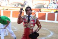 Triunfo de Curro Díaz con una seria corrida de Joselito