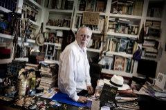 Alberto Di Lolli. 26/7/2019, Madrid. Entrevista al periodista y escritor Antonio <HIT>Perez</HIT> <HIT>Henares</HIT>