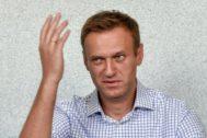 El líder opositor Alexei Navalny.