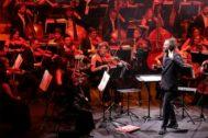 Un momento en el concierto de ADDASimfònica.