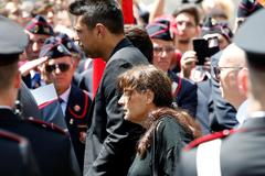 Funeral for slain Carabinieri officer <HIT>Mario</HIT> <HIT>Cerciello</HIT> Rega in Somma Vesuviana
