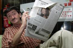 El actor Eduardo Gómez.