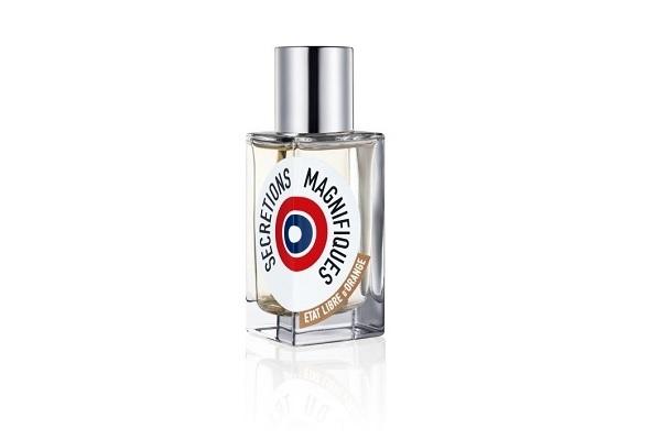 Un frasco del perfume Sécrétions Magnifiques.