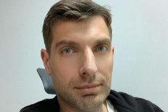 Yaroslav Goncharov, en una de sus fotos compartidas en su Facebook.
