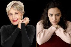Las actrices Concha Velasco y María Hervás.