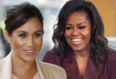 Michelle Obama da una lección de igualdad y maternidad a Markle