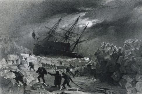 El barco de los exploradores polares que acabaron devorándose unos a otros