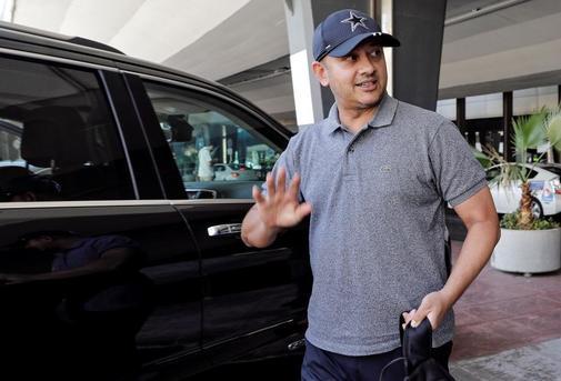 GRAFCVA6822. MANISES.- El presidente del Valencia CF, Anil Murthy, a...