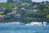 Surfistas en San Juan de Luz