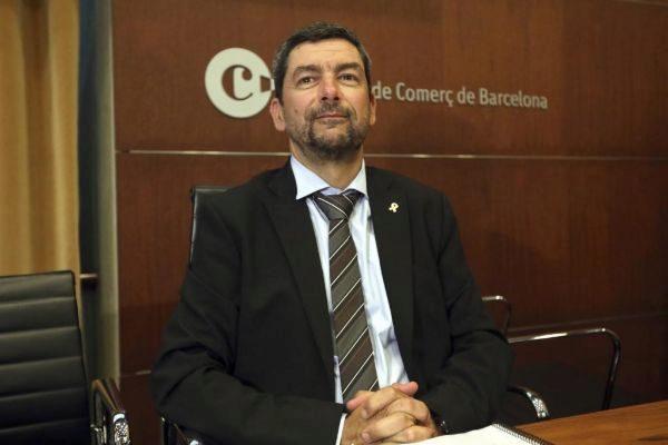 Antonio Moreno 25.07.2019 Barcelona Cataluña. Joan <HIT>Canadell</HIT> el presidente de la Camara de Comercio de Barcelona en primer pleno de la Camara.