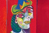 'Buste de femme', el cuadro de Picasso usado en una estafa de Sammons.
