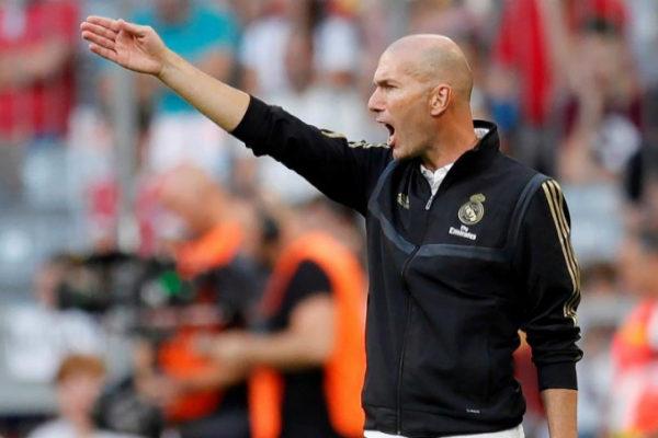 Munich (Germany).- Real Madrid&apos;s head coach Zinedine <HIT>Zidane</HIT>...