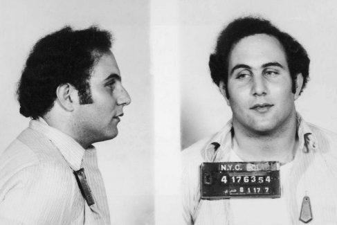 Ficha policial de David Berkowitz