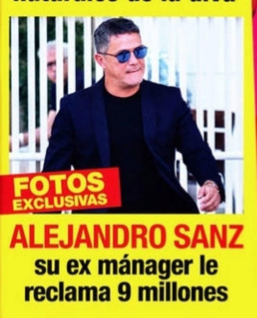 Mánager Le Ex Nueve MillonesFamosos De Reclama Alejandro La Sanz Nw0mOv8n