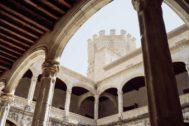 El castillo de Manzanares El Real.