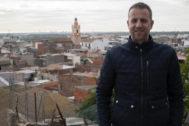 Manel Martínez en la localidad de la que era alcalde, la Vilavella.