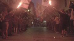 Decenas de abertzales homenajean a Aitor Zelaia en otro 'ongi etorri' en Vitoria