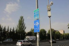 Madrid, 13 de julio de 2019. <HIT>Radares</HIT> de tramo en los puntos kilométricos 4 y 5,7 de la A5.