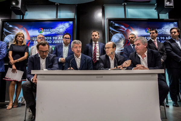 Olmo Calvo. 31/07/2019 Madrid. Comunidad de Madrid Asamblea de clubes...