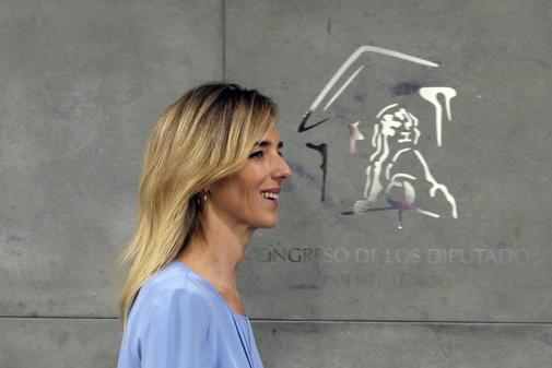 Cayetana Álvarez de Toledo, nueva portavoz del PP en el Congreso,...