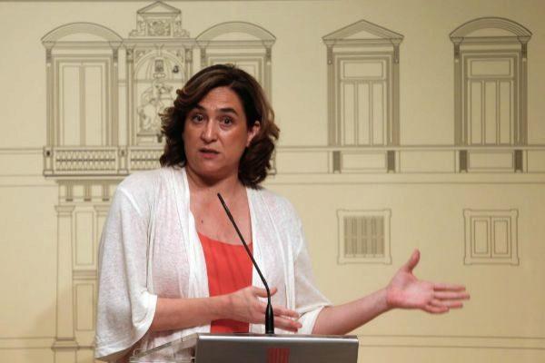 GRAFCAT2841 BARCELONA 30/7/2019.- La alcaldesa de Barcelona, Ada...