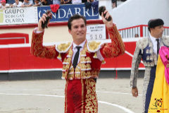 Daniel Luque, primer zarpazo en el corazón de Guipúzcoa