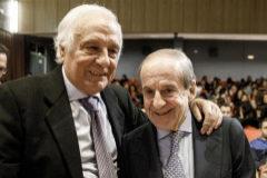 Los periodistas Raúl del Pozo y José María García.