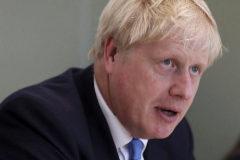 Boris Johnson, este miércoles en Londres.