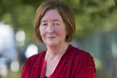 Pat Barker en el Cheltenham Literature Festival en 2015.