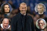 Zinedine Zidane y sus hermanos, Lila (arriba, izq), el hermano...