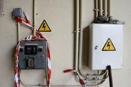 Instalaciones eléctricas clausuradas