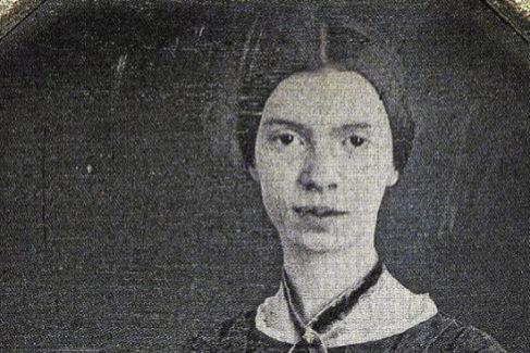 Imagen de 1847 de la poetisa Emily Dickinson.